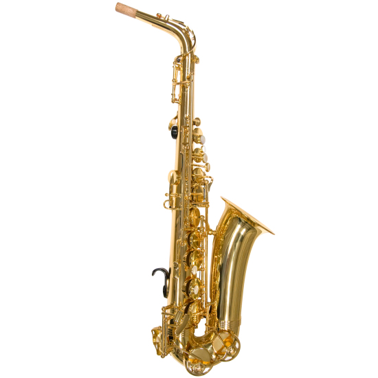 gold lacquer alphasax - complete
